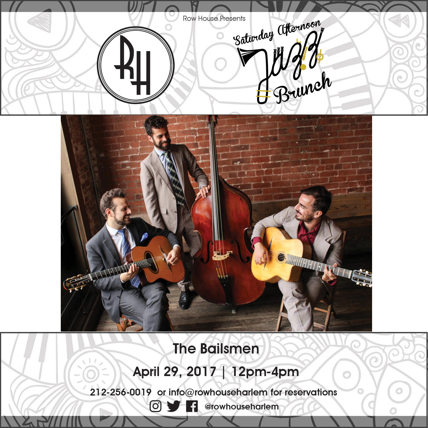 12pm-4pm: The Bailsmen
