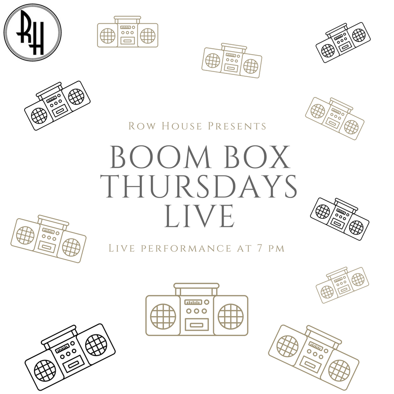 7pm: Boom Box Thursdays- LIVE