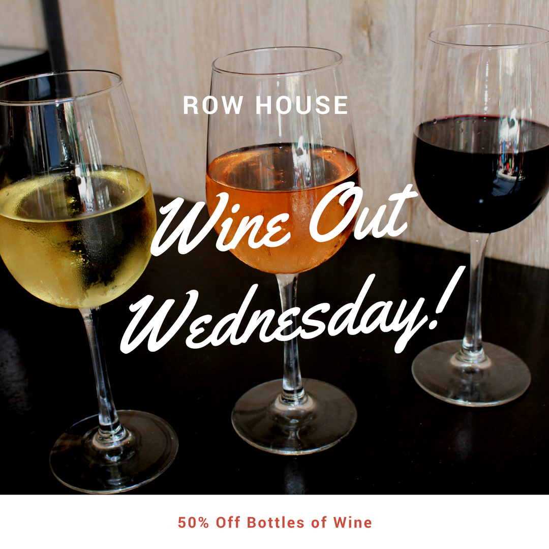 Wine Out Wednesdays- 50% Off Bottles