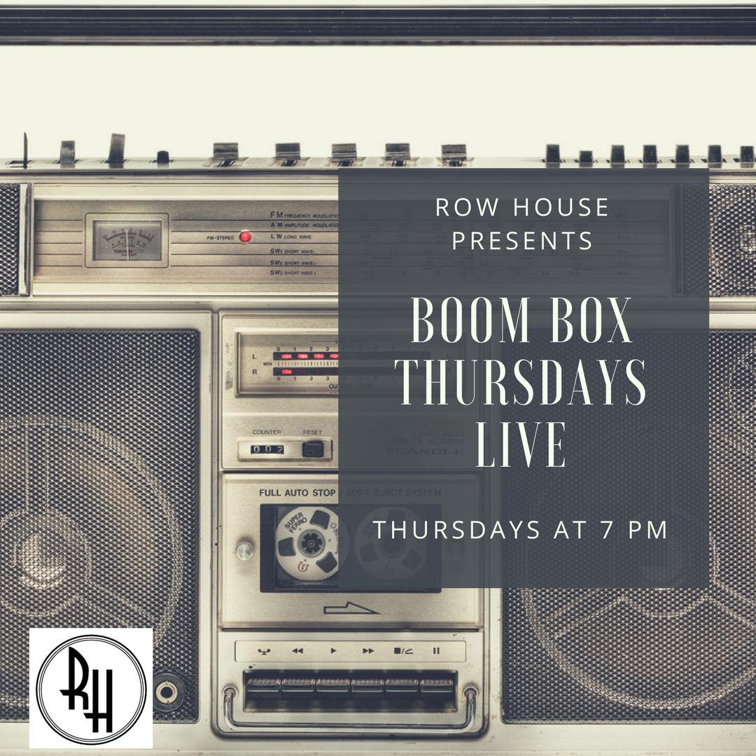 Boom Box Thursday - LIVE!