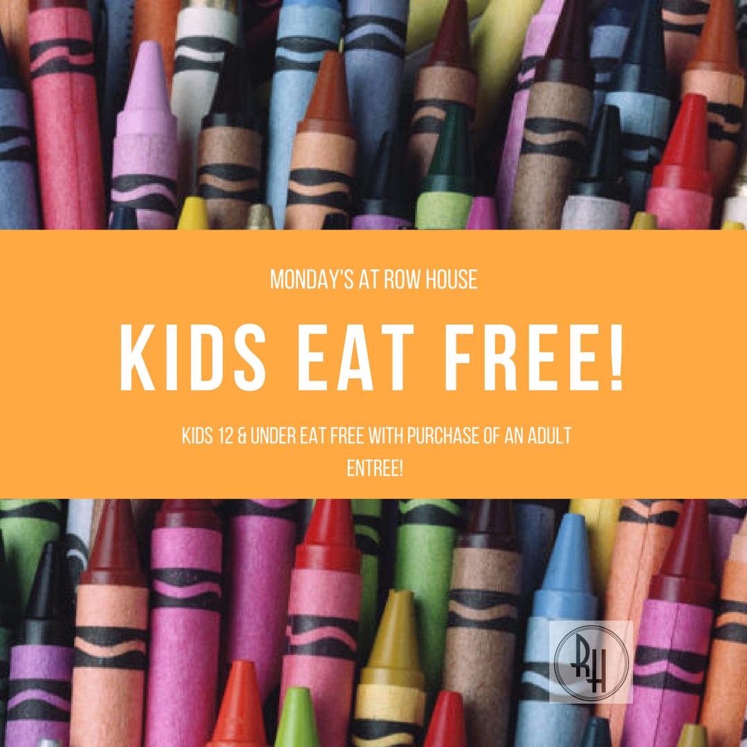 Kids Eat Free- Monday