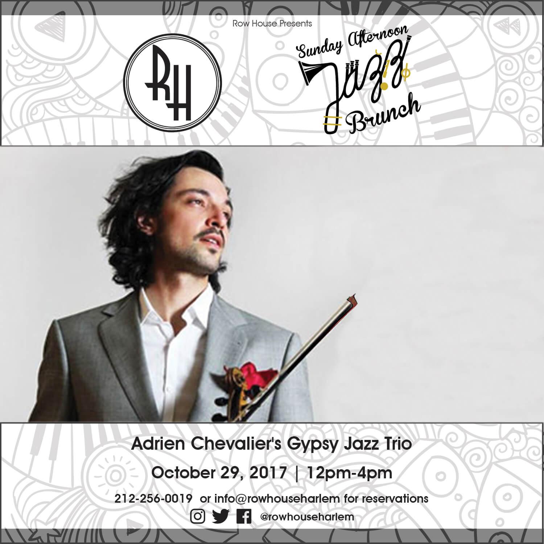 Adrien Chevalier Gypsy Jazz Trio