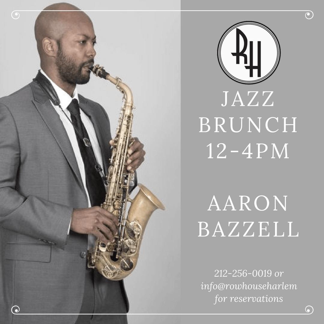 Memorial Day Jazz Brunch- Aaron Bazzell