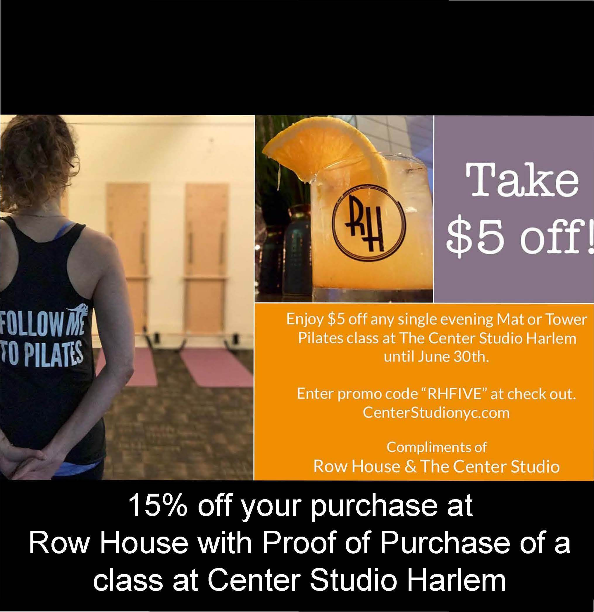 June Promotion with The Center Studio Pilates