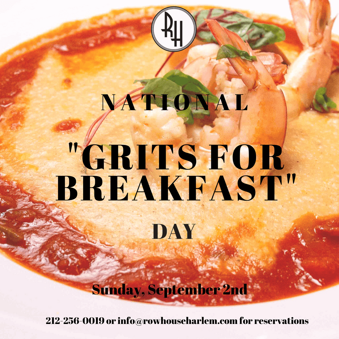 National 'Grits for Breakfast' Day