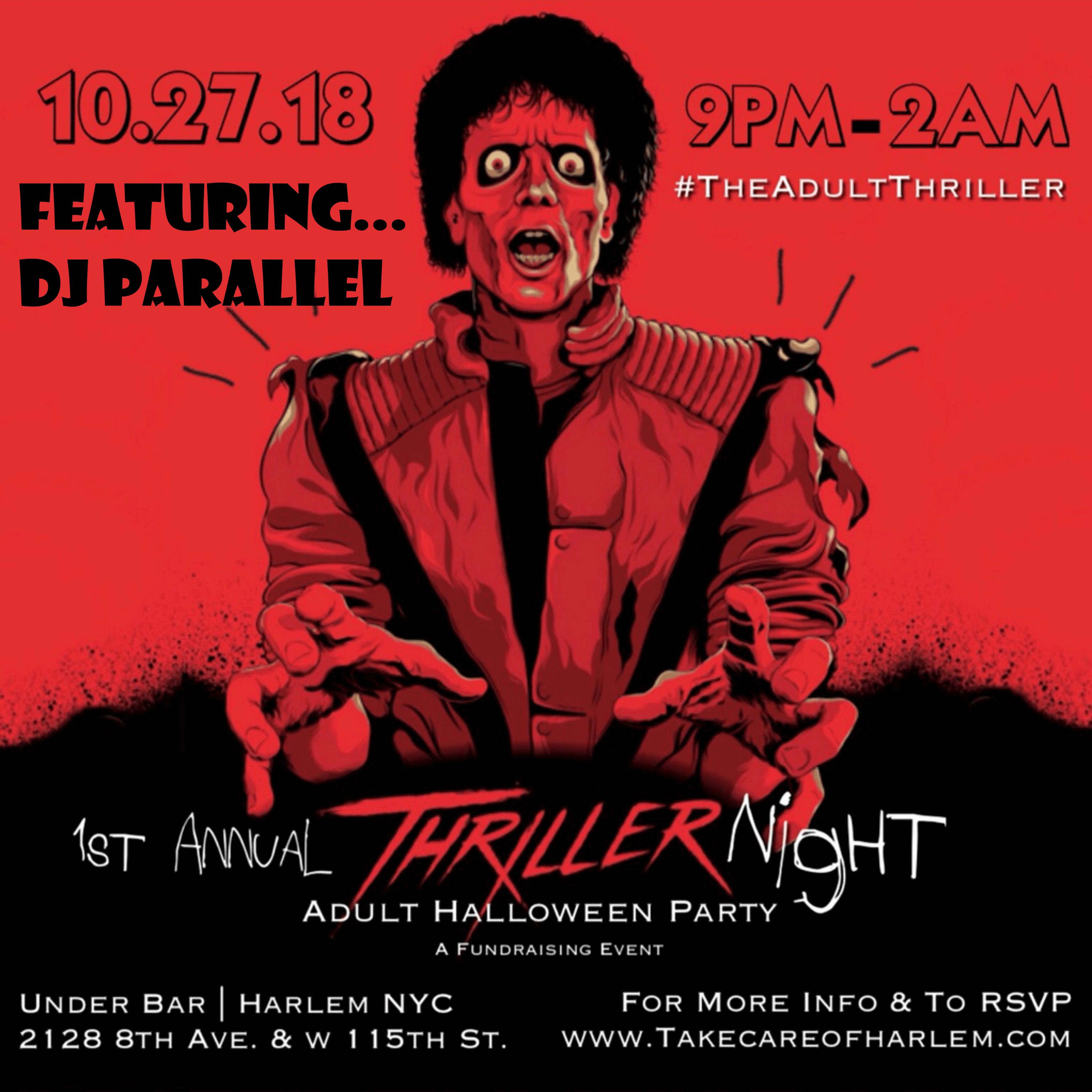 1st Annual Thriller Night Halloween Party