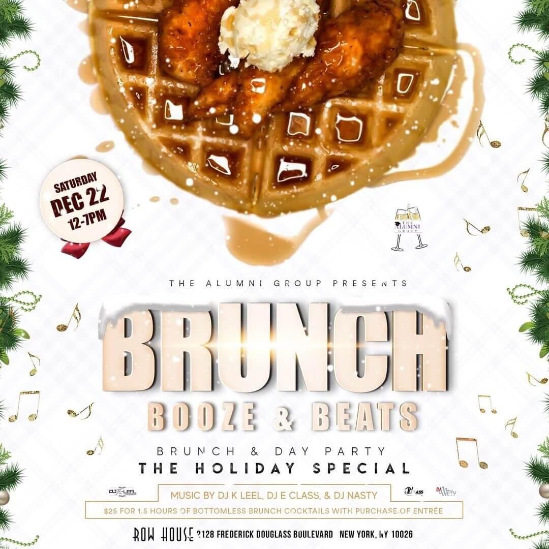 Brunch, Booze & Beats- Holiday Edition