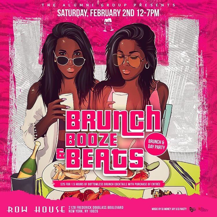 Brunch, Booze & Beats Day Party
